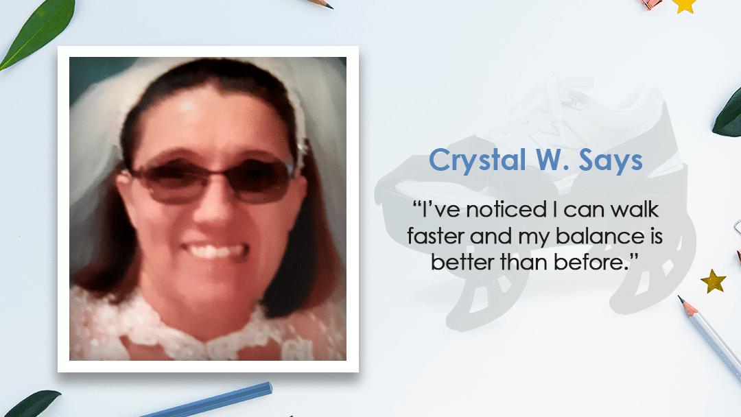 Moterum iStride Device™ User Spotlight – Crystal Williams!